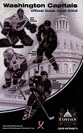Washington Capitals - Officical Guide 2002-2003
