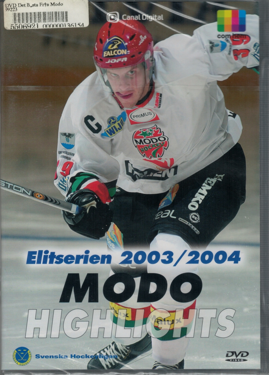 DVD Det bästa från Elitserien 2003/2004 - MODO Highlights