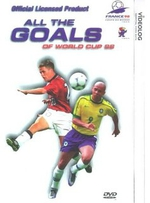 DVD All The Goals of World Cup 98
