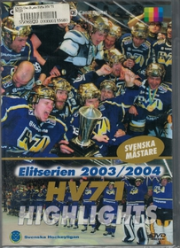 DVD Det bästa från Elitserien 2003/2004 - HV71 Highlights