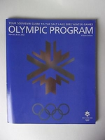 Olympic Program Salt Lake 2002 Winter Games
