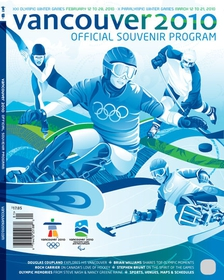 Official souvenir program Vancouver 2010