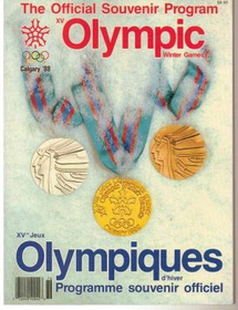 The Official Souvenir Program of Olympic Games Calgary '88