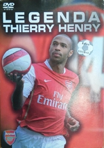 Legenda Thierry Henry (DVD)