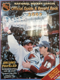 NHL Official Guide & Record Book 2002