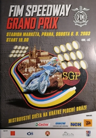 Oficiální program FIM Speedway Grand Prix 2003