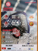 Cardiff Devils před Champions Hockey League 2018/2019