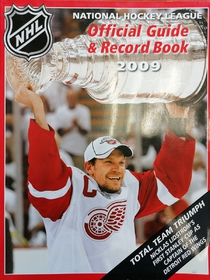 NHL Official Guide & Record Book 2009