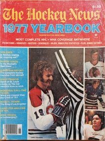 The Hockey News - Yearbook 1977