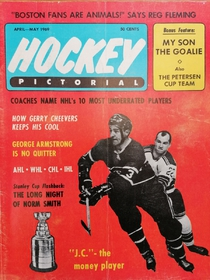 Hockey Pictorial - JC the money player (4-5/1969)