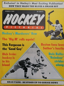 Hockey Pictorial - The Big M rolls again! (3/1969)