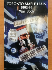 Toronto Maple Leafs - Yearbook 1993-1994