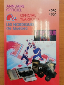 Les Nordiques - Yearbook 1989-1990