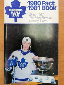 Toronto Maple Leafs - Fact Book 1980-1981