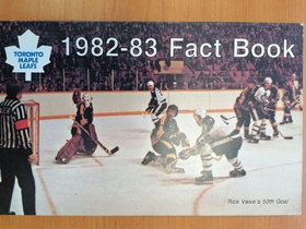 Toronto Maple Leafs - Fact Book 1982-1983