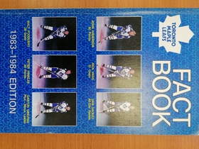 Toronto Maple Leafs - Fact Book 1983-1984
