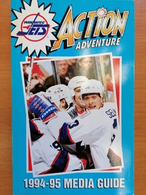 Winnipeg Jets - Media Guide 1994-1995