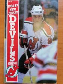 New Jersey Devils - Yearbook 1986-1987