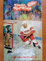 Detroit Red Wings - Fact Book 1980-1981