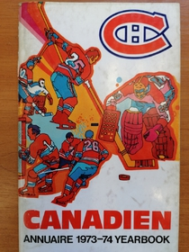 Montreal Canadiens - Yearbook 1973-1974