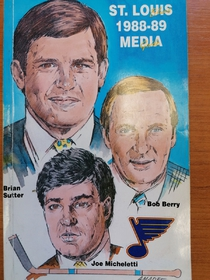 St. Louis Blues - Media Guide 1988-1989