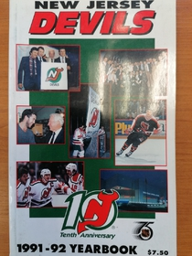 New Jersey Devils - Yearbook 1991-1992