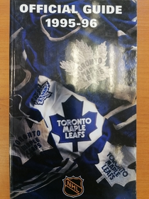 Toronto Maple Leafs - Official Guide 1995-1996