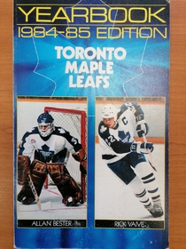 Toronto Maple Leafs - Yearbook 1984-1985