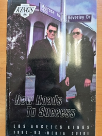 Los Angeles Kings - Media Guide 1992-1993