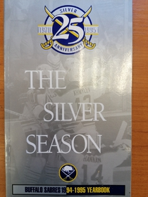 Buffalo Sabres - Yearbook 1994-1995