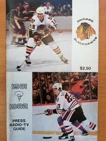 Chicago Blackhawks - Official Guide 1981-1982