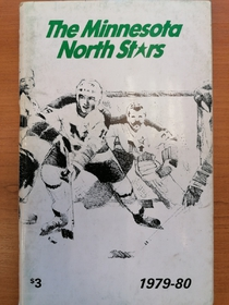 Minnesota North Stars - Official Guide 1979-1980