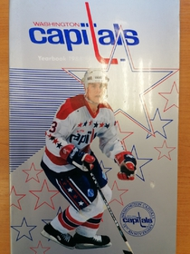 Washington Capitals - Yearbook 1988-1989