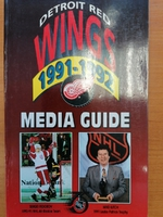 Detroit Red Wings - Media Guide 1991-1992