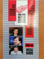 Detroit Red Wings - Media Guide 1989-1990