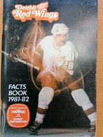 Detroit Red Wings - Fact Book 1981-1982