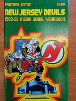 New Jersey Devils - Yearbook 1982-1983