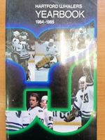 Hartford Whalers - Yearbook 1984-1985