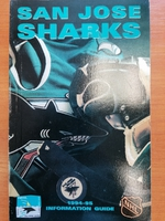 San Jose Sharks - Official Guide 1994-1995