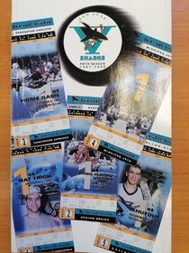 San Jose Sharks - Yearbook 1995-1996