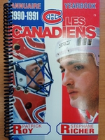 Montreal Canadiens - Yearbook 1990-1991