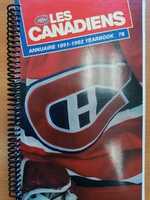 Montreal Canadiens - Yearbook 1991-1992