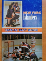 New York Islanders - Fact Book 1975-1976