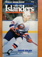 New York Islanders - Media Guide 1989-1990