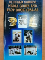 Buffalo Sabres - Media Guide 1984-1985