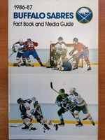 Buffalo Sabres - Media Guide 1986-1987